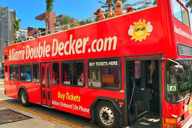 Miami Double Decker Bus Tour Included