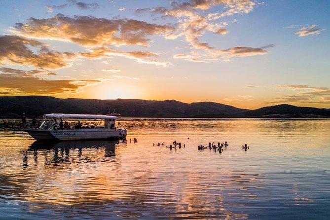 Lake Argyle Sunset Magic Cruise Departing Kununurra
