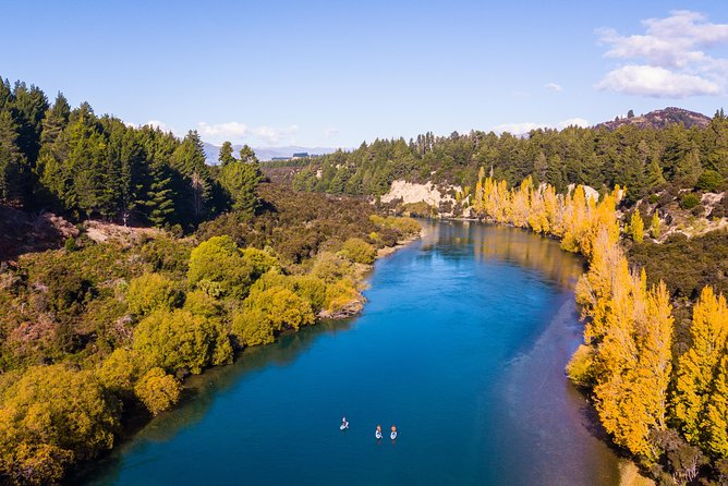 Stand Up Paddle Boarding adventure on the Clutha River (The Taster)
