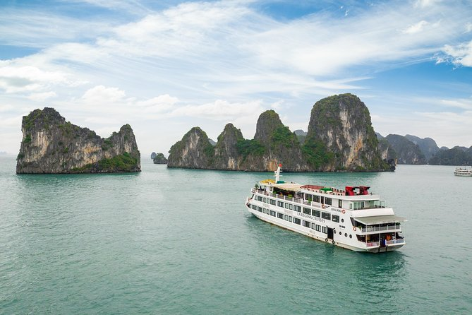 Ha Long - Bai Tu Long Bay La Regina Royal 5 Stars Cruise 2 Days 1 night