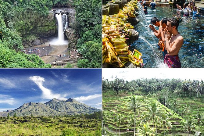 Private Full Day-Tour: Ubud Village, Waterfall and Kintamani Volcano Tour