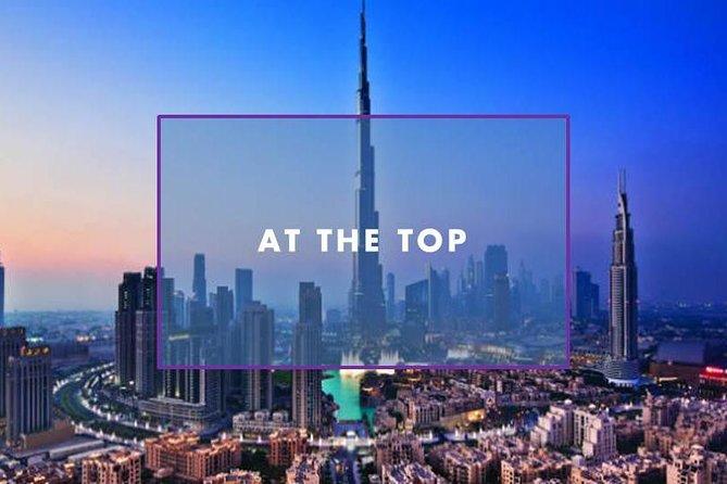 At the Top Burj Khalifa 124 and 125th Floor