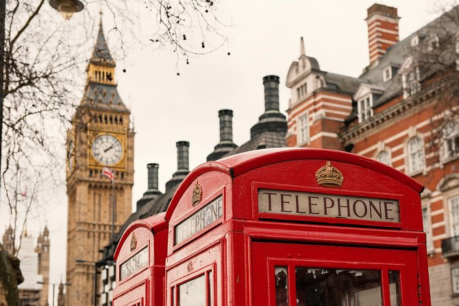 London Day Trip from Paris by train including Hop on Hop off Tour