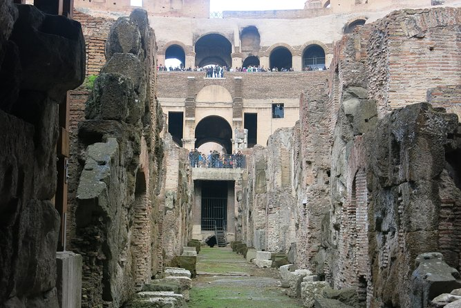 Colosseum Restricted Areas Tour: Access to Undergrounds