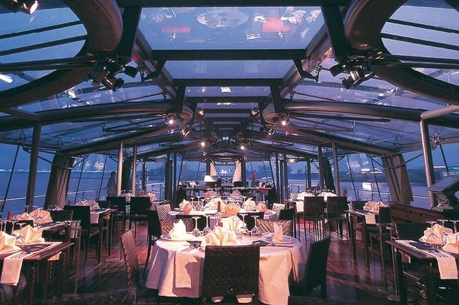 Bateaux Dinner Cruise with Return Transfers from Dubai Hotels