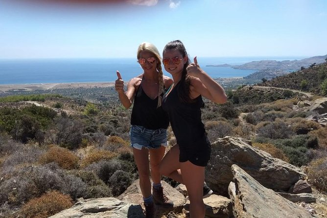 Hike the beautiful east side of Rhodes Private Tour