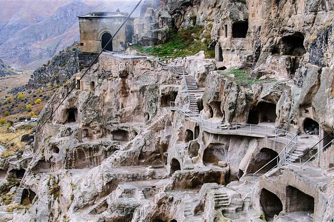Full Day Private Tour to Vardzia, Rabati and Borjomi from Tbilisi