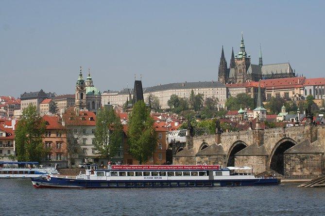 Panoramic Vltava River Cruise in Prague