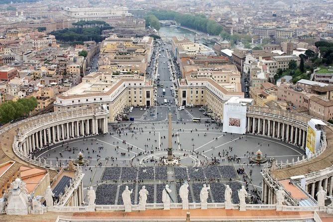 St. Peter's Dome Climb & Rome Street Food Walk with Risk Reduction Protocols