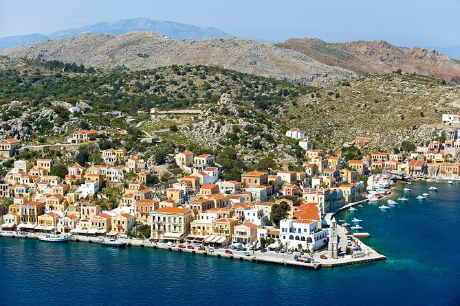Boat Trip to Symi Island with swimming stop at St George Bay