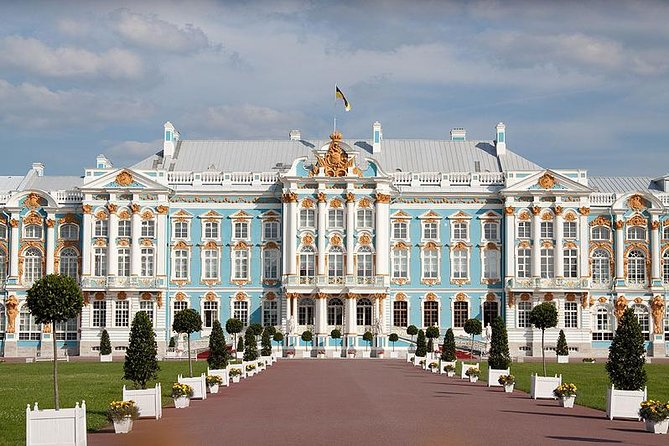 Peterhof Park and the Catherine Palace tour with Amber Room in 1 Day