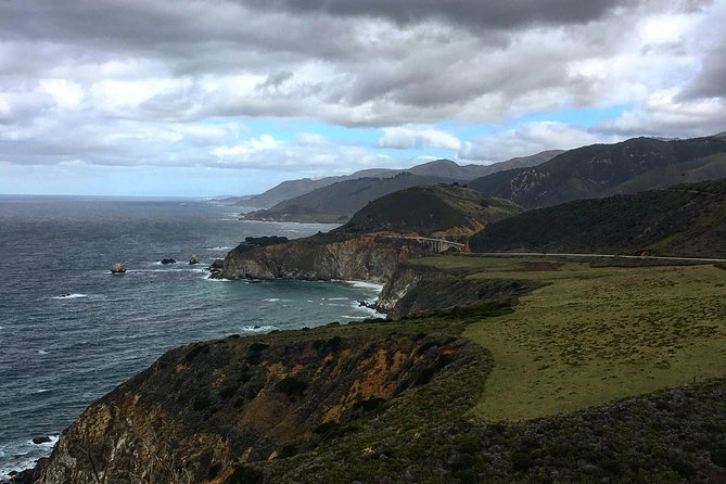Looking North at Bixby Bridge from Hurricane Point.