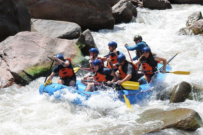Full Day Royal Gorge Whitewater Rafting Adventure Canon City CO