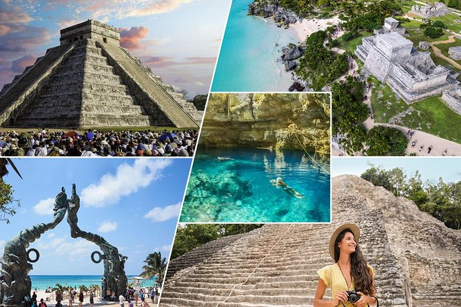 Combo Mayan Ruins: Chichen Itza, Tulum, Coba, Cenote and Chocolate experience.