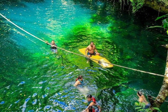 Drive an Atv, swim in a Cenote and experience ziplines in the Cancun jungle