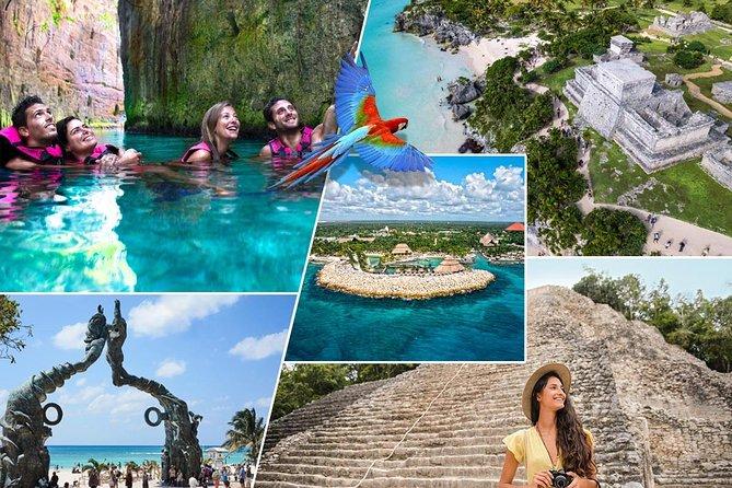 Xcaret Plus and Coba - Tulum - Cenote in 2 days Combo