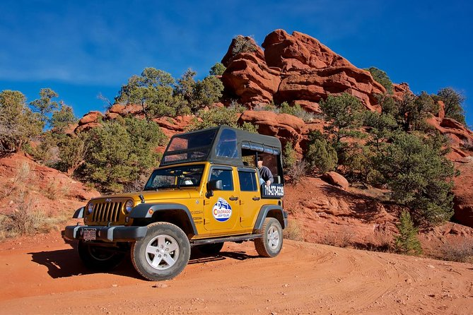 Off-roading Red Canyon