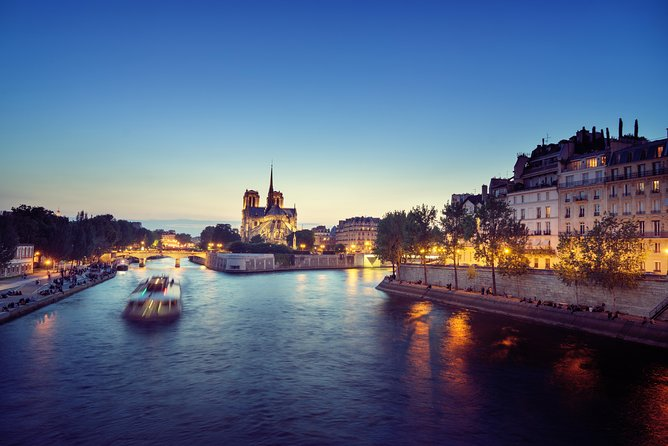 Eiffel Tower Summit Optional,Seine River Cruise & Paris Lights Evening Tour