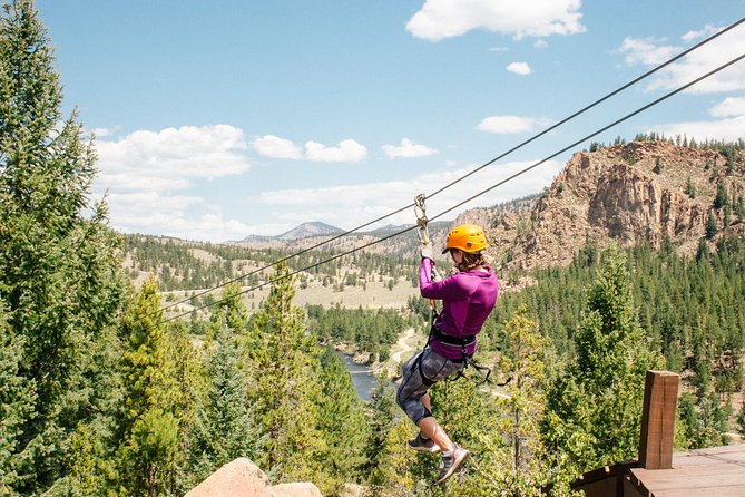 Buena Vista Granite Mountaintop Zipline