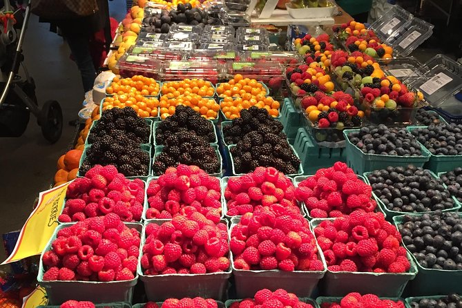 Food Walking Tour of Granville Island Public Market