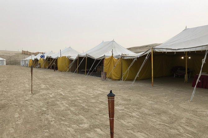 Nuit arabe camping et désert Safari