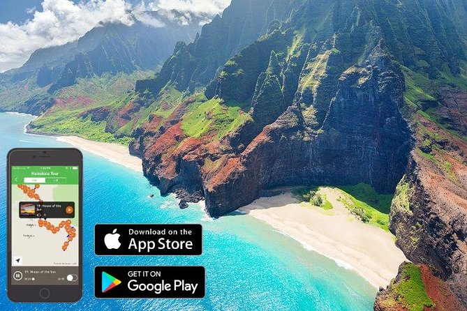 Waimea Canyon & Na Pali Driving Tour app