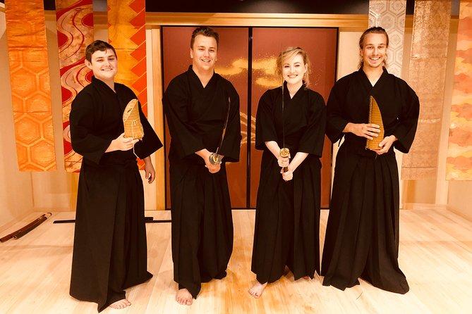 real katana, samurai experience