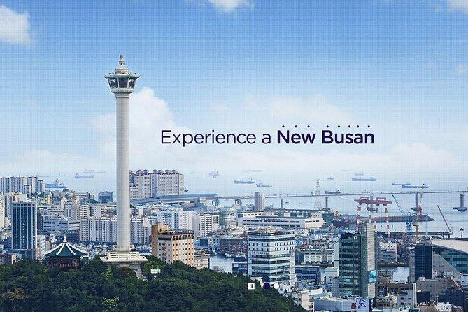 Busan Tower Ticket: Busans signatur observatorium