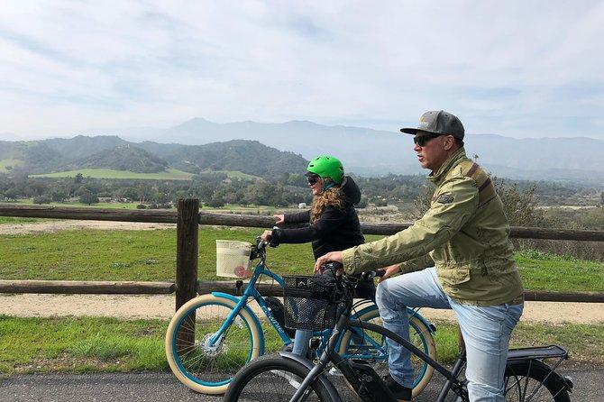 ¡Visitas autoguiadas en bicicleta por la bella Ojai California!