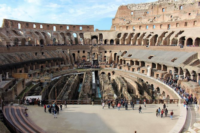 Private Tour: Colosseum, Roman Foro, Palatine Hills with transfer