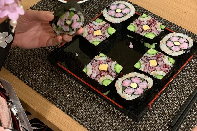 Adorable! Instagrammable! Decorative Sushi Roll—Two Kinds