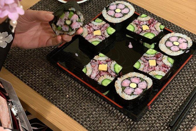 Bezaubernd! Instagrammable! Dekorative Sushi-Rolle - Zwei Arten