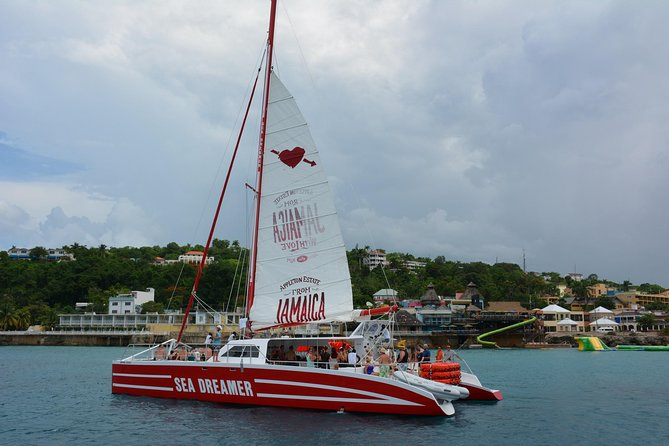 Negril Catamaran Adults Only Cruise, Snorkeling and Rick's Cafe from Negril