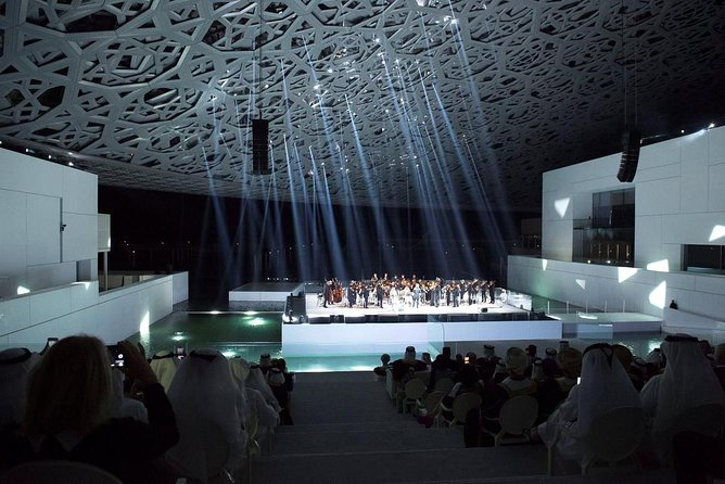 Louvre Abu Dhabi and Grand Mosque Tour