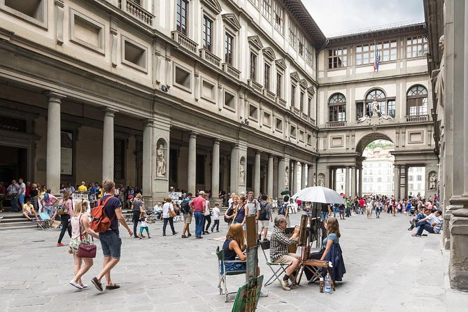 BE THE FIRST! Early Bird Florence Half Day Tour: Uffizi, Accademia, Walking Tour