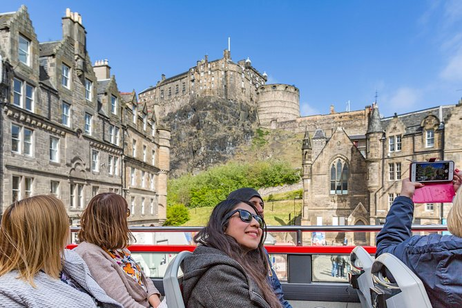 Edinburgh Shore Excursion: City Sightseeing Hop-On Hop-Off Bus Tour