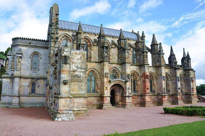 Viagem de um dia para grupos pequenos sobre o Código Da Vinci e as fronteiras escocesas saindo de Edimburgo
