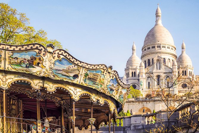 In the footsteps of the Impressionists: Montmartre Tour with Sacre Coeur Views