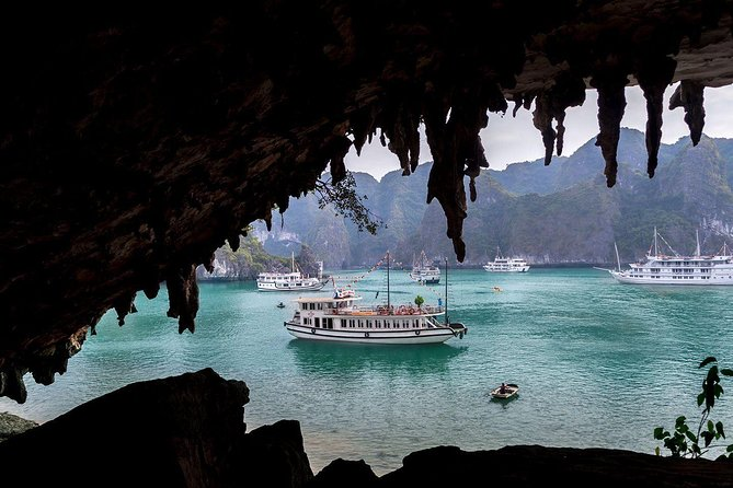 Private Halong Bay 4Hour Cruise & Private Transfer On NEWEST Highway From Hanoi