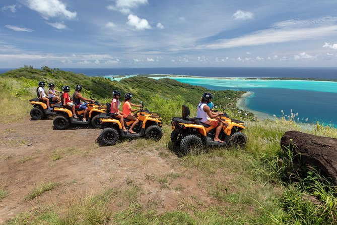 Bora Bora Quad Tours in ATV