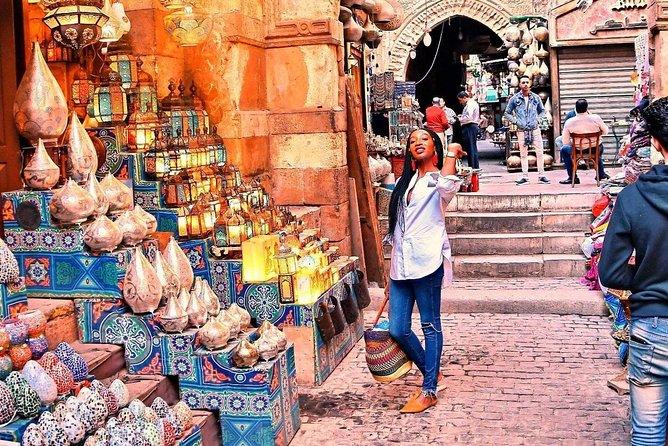 Cairo Transit Tour to Cairo Museum & Elkhalili Tourist Bazaar
