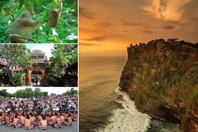 Amazing Bali Culture-Tour: Ubud and Uluwatu Sunset Tour