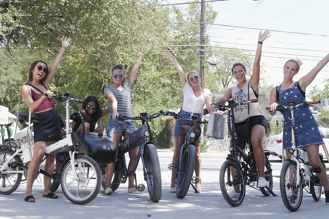 Austin Electric Bicycle Rental and Self-Guided Tour