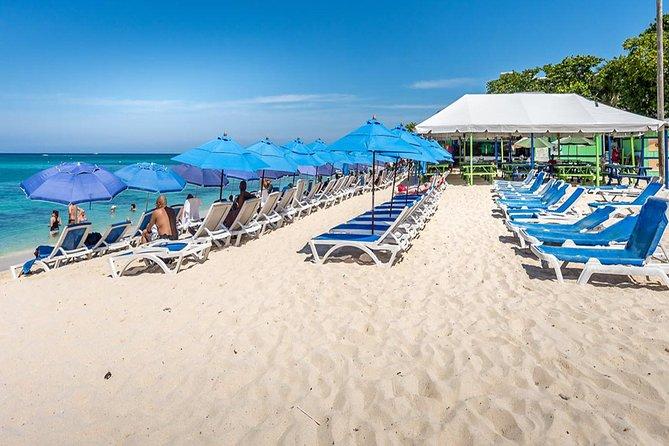 Beach Break at Seven Mile Mile Beach in Grand Cayman