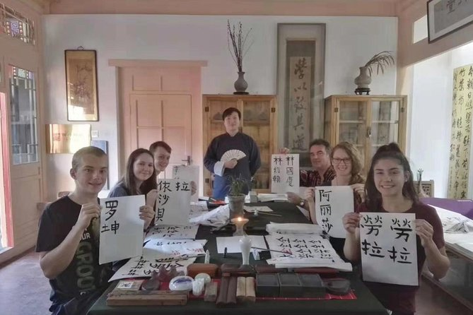 Flexible Beijing City Tour with Chinese Calligraphy Class and Lunch