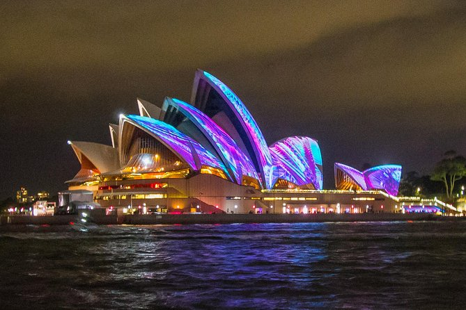 VIVID Festival Private Charter On Sydney Harbour