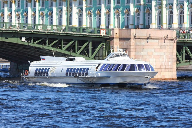 Peterhof Gardens by Hydrofoil Tour with Skip-the-line Park Admission