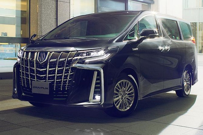 Explore Okinawa with Private Alphard Car Hire with Simple English Driver