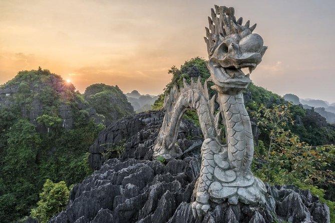 Excursión de lujo de 1 día a la cueva Hoa Lu Tam Coc Mua