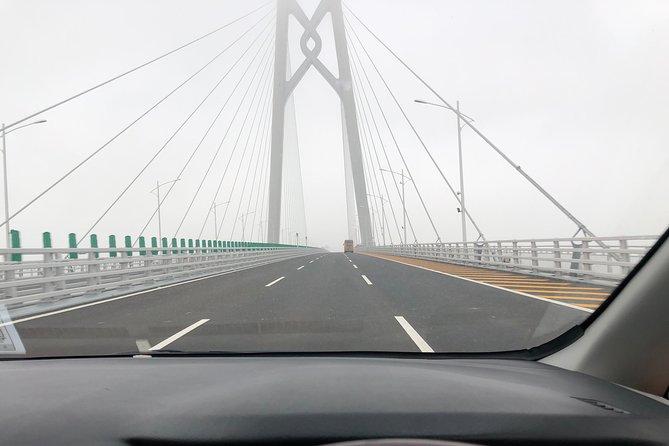 Hong Kong Private Transfer to Macau hotel over Bridge